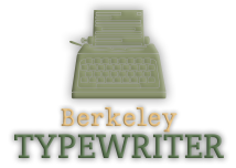 berkeley typewriter logo